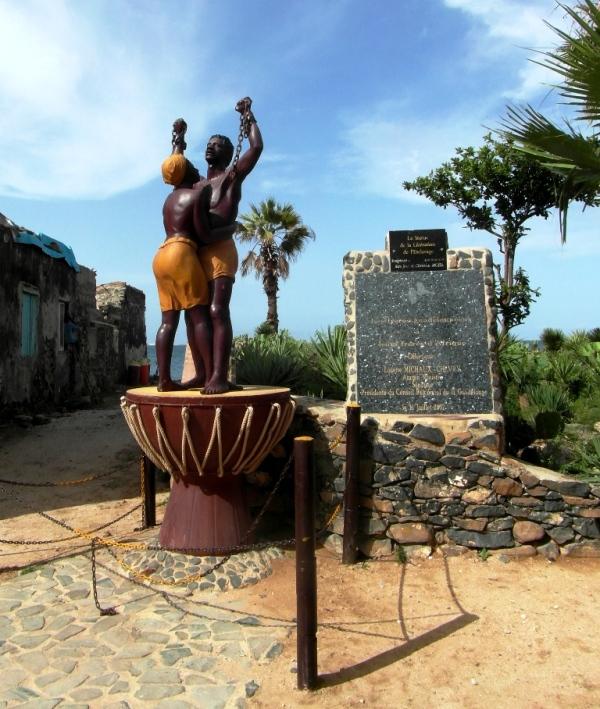 Statue libération esclavage