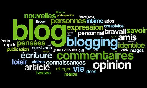 Blogging en tag