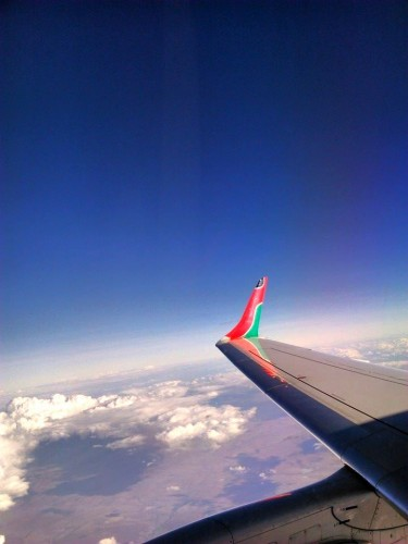 Vol Kenya Airways